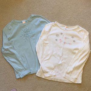 EUC Gymboree long sleeve shirt bundle size 9